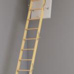 Comfortabele trap naar zolder